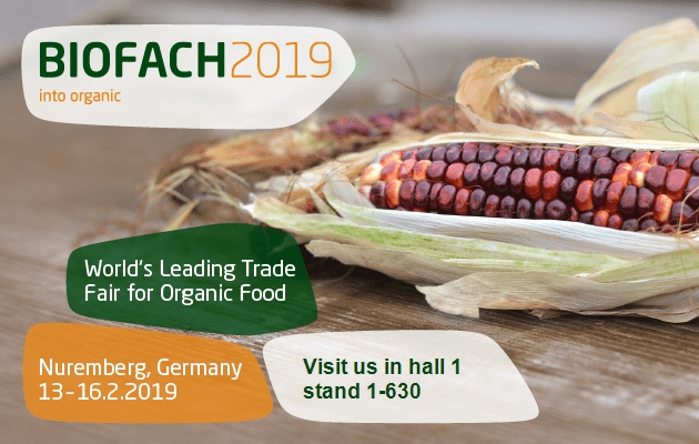 Visit Bata Food at Biofach 2019