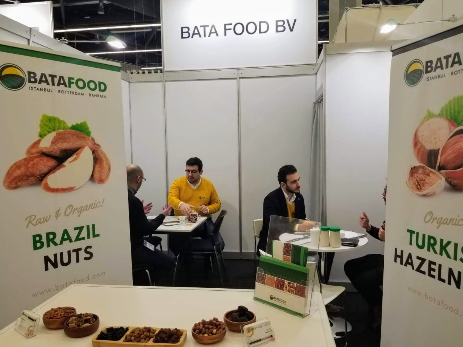 BATA FOOD BV Biofach 2019 Organic Dried Fruits Nuts Seeds Supplier