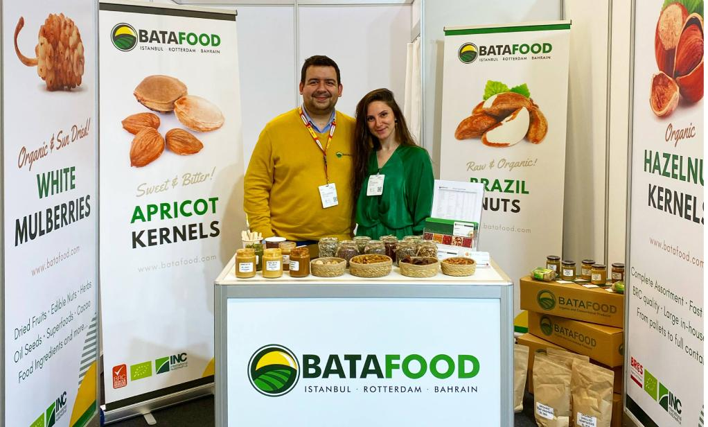 Bata Food BV - Biofach 2020 Organic Food Ingredients Supplier Netherlands