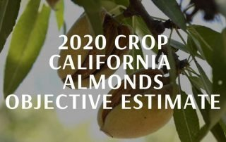 California Almonds Objective Crop Estimate 2020 by supplier BATA FOOD